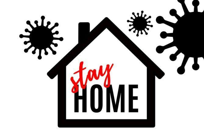 house, corona, coronavirus