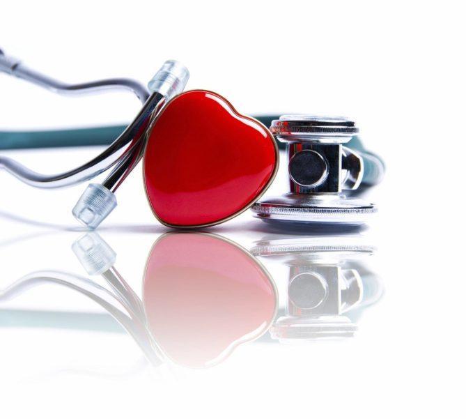 heart, stethoscope, medicine