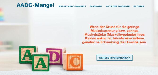 Website AADC-Mangel