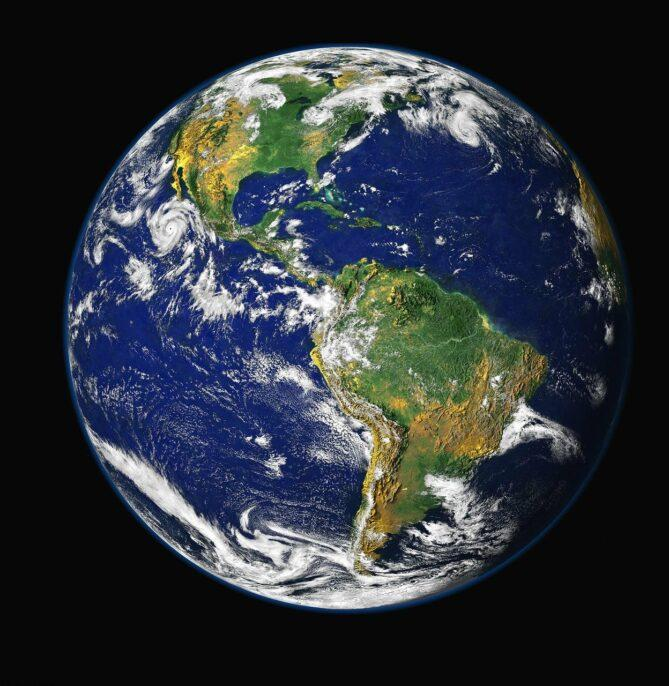 earth, blue planet, globe