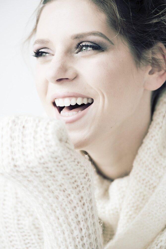 Strahlendes Lächeln, Zähne, Zahngesundheit