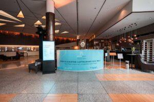 Eingangsbereich und Empfang pneumovisions 2020