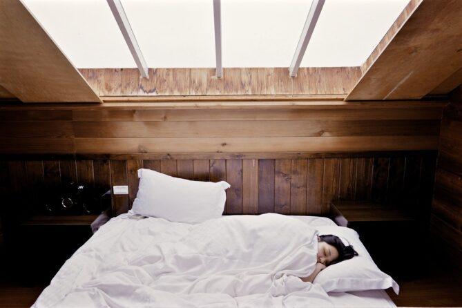 Ausreichend Schlaf