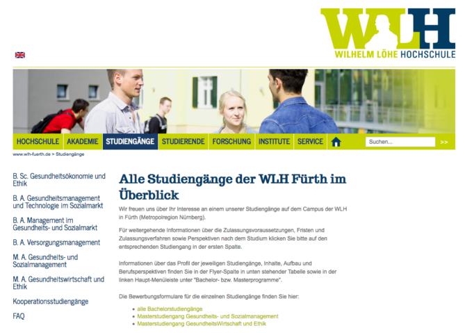 Wilhelm Löhe Hochschule in Fürth