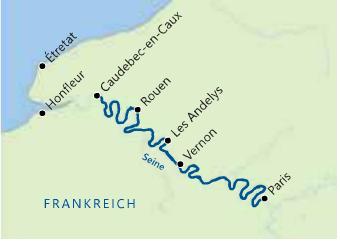 Excellence Royal: Route auf der Seine