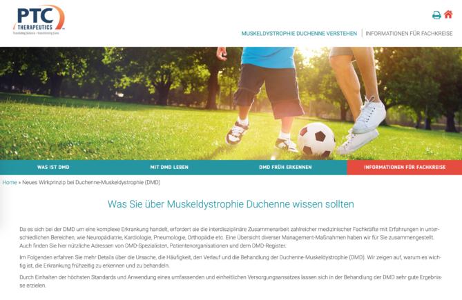 Website www.duchenne.de