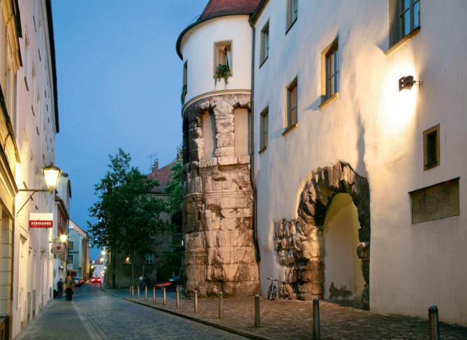 Regensburg, Porta Praetoria