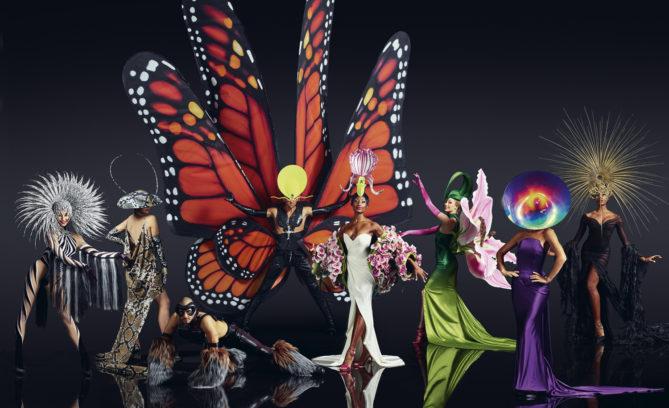 Jungle Extravaganza Kostüme Kopfschmuckdesign & Design Director: Philip Treacy | Kostümdesign: Stefano Canulli | Foto: Robert Grischek