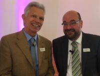 Foto: Prof. Dr. Hanno Riess und Dr. Gunther Claus