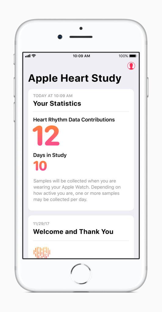 Statistische Auswertung der Apple Heart Study