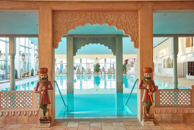 Schwimmbecken Thermalbad Mediterana