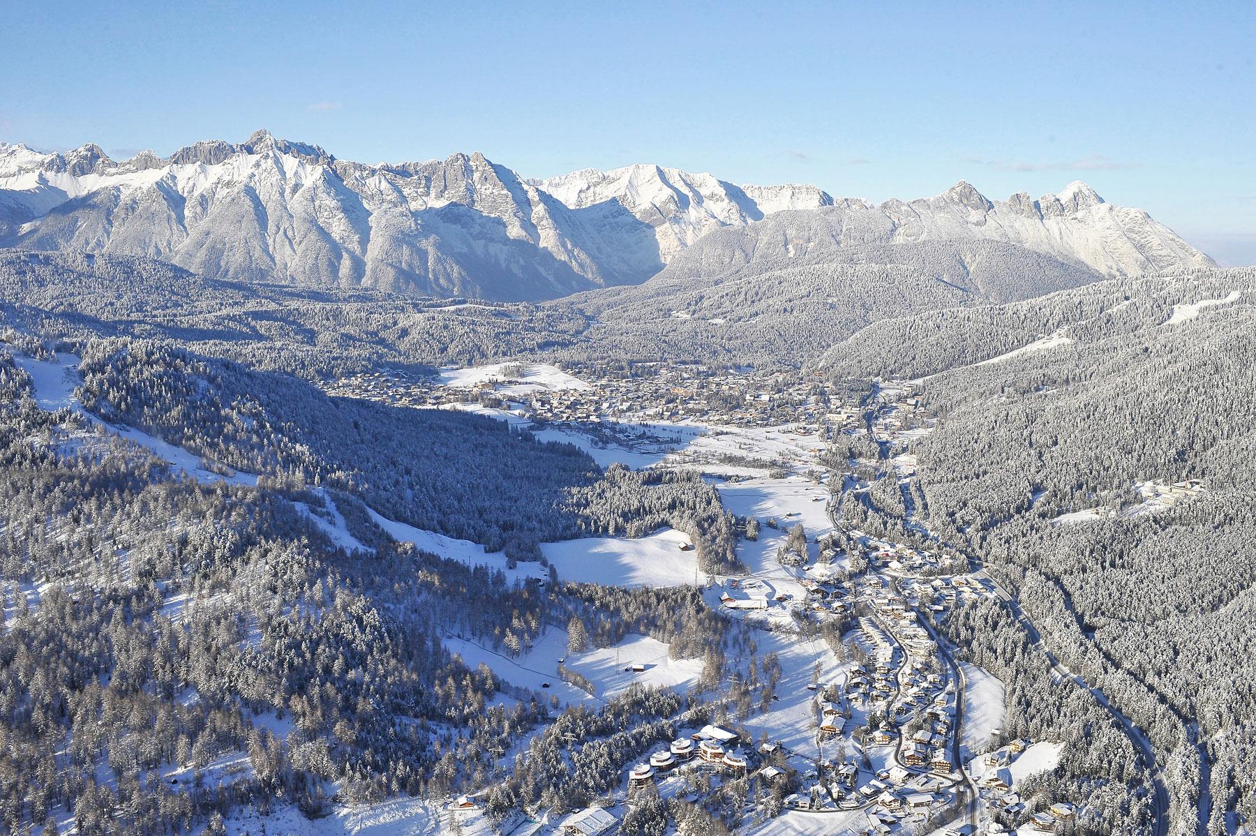 Luftbild von Reith und Seefeld