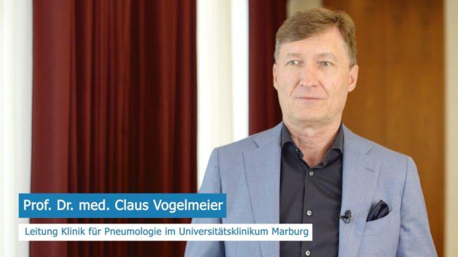 COPD Therapie in der Klinik. Prof. Dr. med. Claus Vogelmeier geht im Interview auf die Besonderheiten der CODP Therapie in der Klinik ein.
