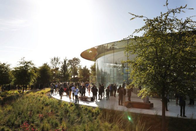 Steve Jobs Theater im Apple Park
