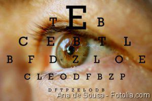 Augenerkrankung - Sehtest