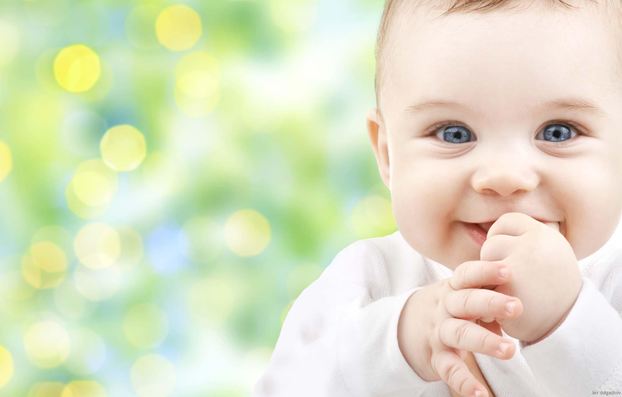 Glück, Baby, Krankheitsanfälligkeit