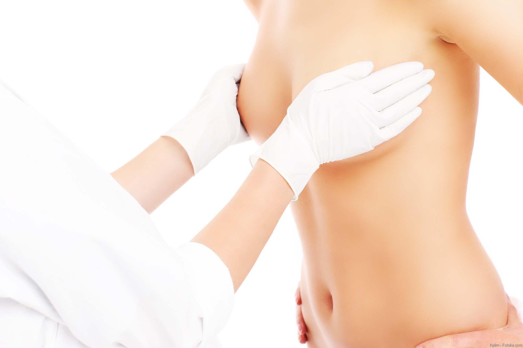 Die Erhöhung der Brust bis zur Operation der Empfehlung