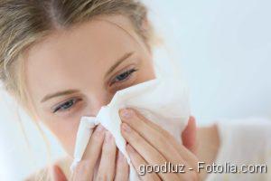 Mukoviszidose, Veränderte Hirnaktivität, Erkältung