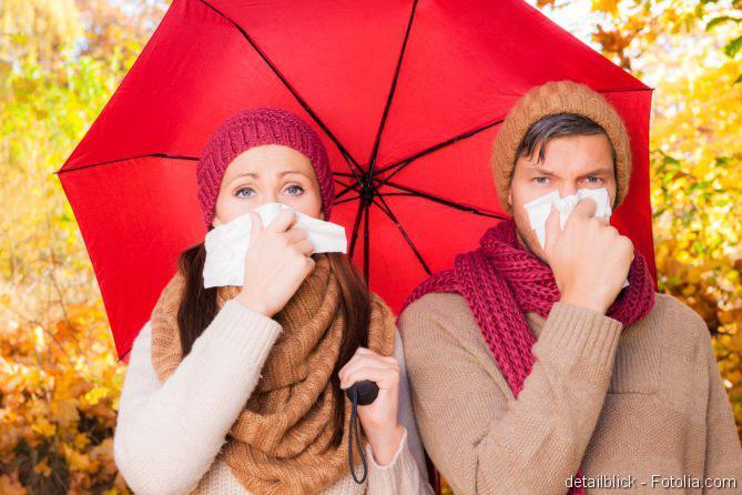 Impfung gegen Grippe, Grippeimpfung, Sport mit Erkältung