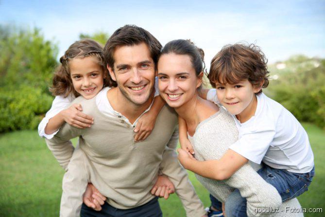 Familie, Kinder, Garten