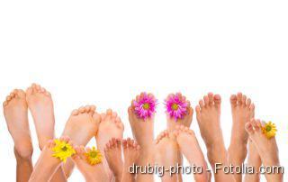 High Heels, Füße