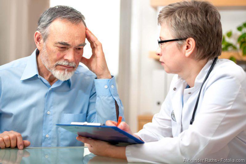 Arzt-Paient-Gespräch, Prostatakrebs