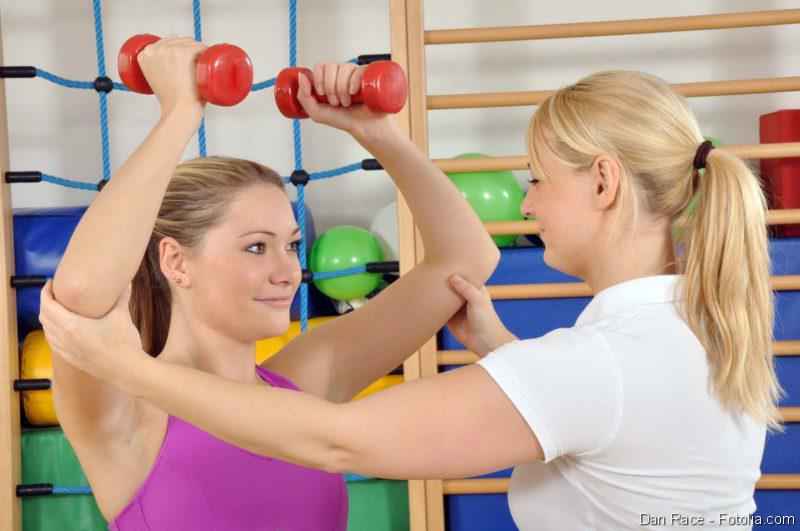 Physiotherapie, Muskelverletzung