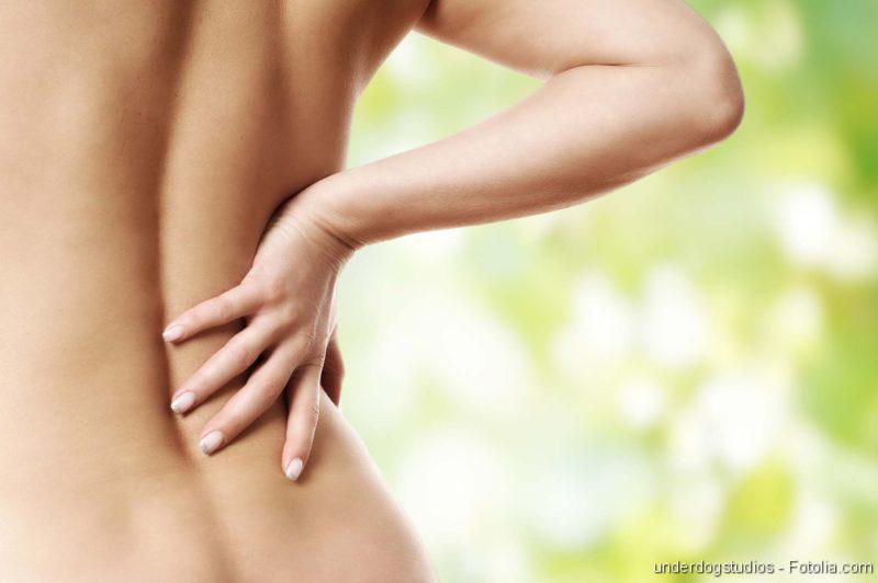 Gesunder Rücken, Bandscheibenvorfall: Rückenschmerzen