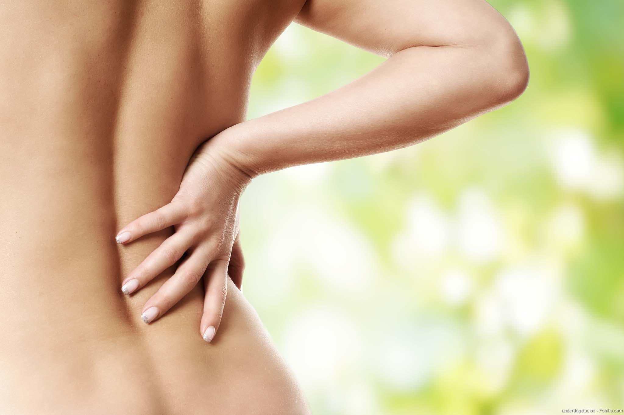 Rücken, Gesunder Rücken, Bandscheibenvorfall: Rückenschmerzen