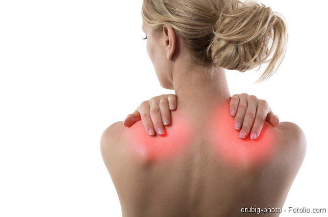 Schmerzen im Nackenbereich