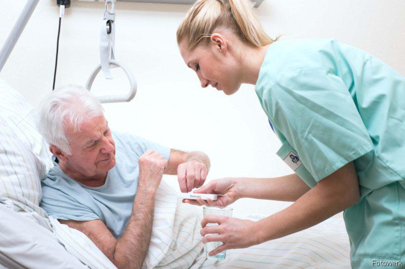 Palliativversorgung, Dekubitus, Durchgangssyndrom: Pflege, Krebserkrankungen