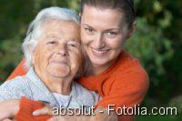 Hautalterung, Seniorin, Senior, Altersmedizin