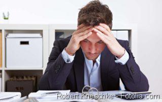 Befeuchtung der Augen, Innere Unruhe, Stress, Burnout