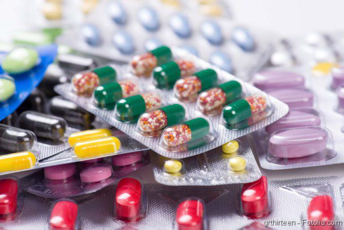 Kapseln mit Arzneimitteln