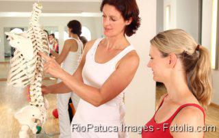 Physiotherapie, Physiotherapeut, Morbus Bechterew:Ergonomie - Rückengesundheit